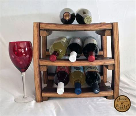 countertop wine rack counter top wine rack barrel of murrays