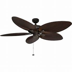 Honeywell, Palm, Island, Ceiling, Fan, Bronze, Finish, 52, Inch