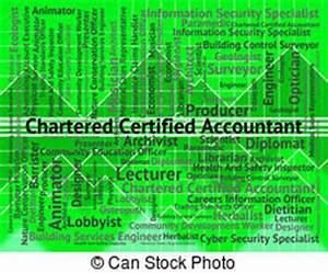 Chartered certified accountant Stock Illustration Images ...