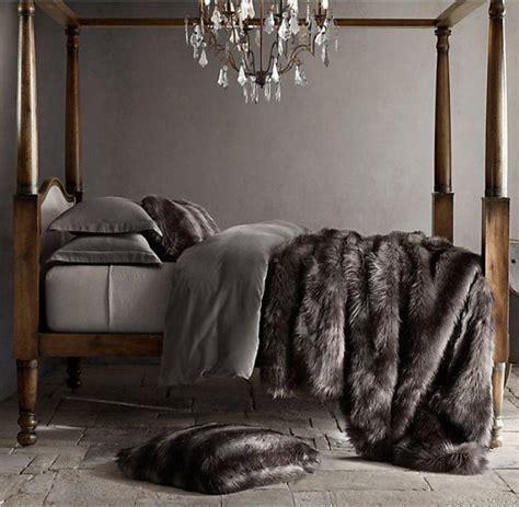 chambre fourrure le plaid fausse fourrure confort pour vous et style