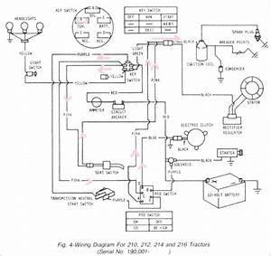 John Deere Model D170 Wiring Diagram
