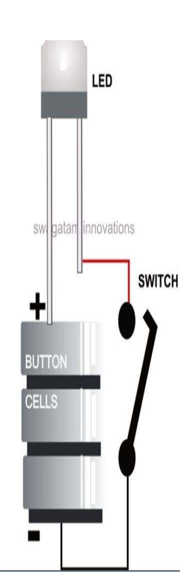 Li Led Flashlight Diagram by How To Make A Led Flashlight Circuit Circuit Diagram Centre