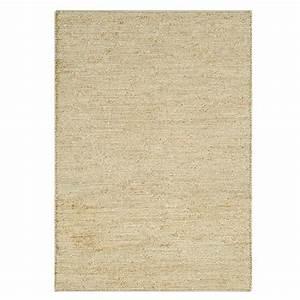 tapis naturel en jute beige clair tisse a la main With tapis beige clair