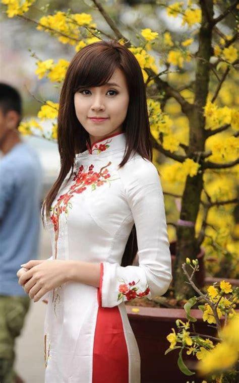 Hình ảnh Gái Xinh Mặc áo Dài đẹp ấn Tượng Nhất Năm 2016