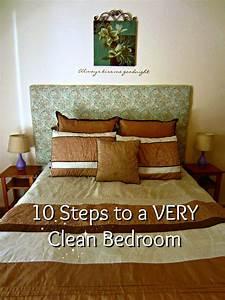 Vol. 2, Day 18: Ten Steps to Deep Clean Your Bedroom ...