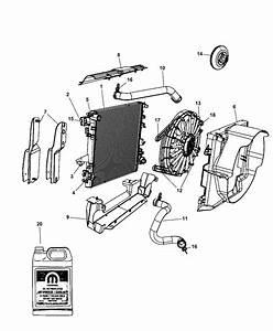 2009 Jeep Wrangler Radiator  U0026 Related Parts