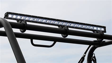 40 quot road led light bar 120w 9 600 lumens led
