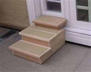 customer notes photos With dog door steps