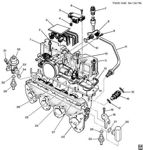 1997 S10 Engine Diagram by 1997 Chevy Blazer Vacuum Diagram