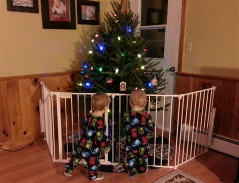 christmas tree gate what toddlers to do the next family