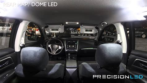 nissan altima led interior   install