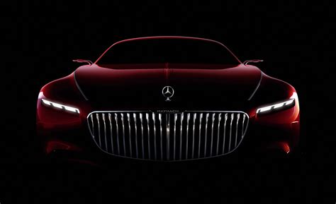 Wallpaper Vision Mercedesmaybach 6, Concept Cars, Hd, 5k