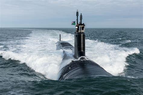 virginia class submarine vcs modern weapons