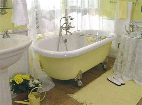 bathroom designs with clawfoot tubs claw tub gray yellow bathroom ideas
