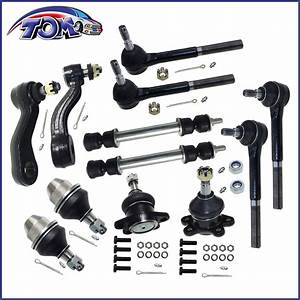 Brand New 12pc Suspension Set Chevy Gmc K1500 Z71 Yukon