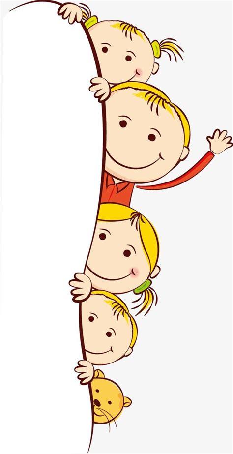Cute Cartoon Children Clip Art