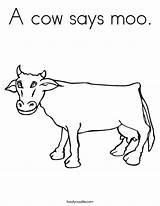 Cow Coloring Moo Worksheet Cows Animal Herd Kleurplaat Donalds Mc Twistynoodle Colouring Noodle Twisty Kleurplatenl Popular Activities Ausmalbilder sketch template