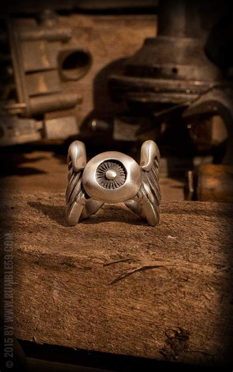 stainless steel flying eyeball ring stainless steel