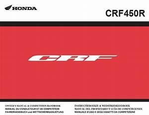 2011 Honda Crf450r Service Repair Manual Pdf Genuine Honda  Yamaha  Ktm Service Repair Manuals