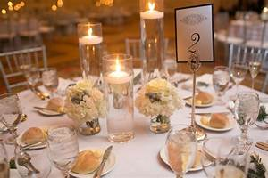 Romantic, Floating, Candle, Centerpieces