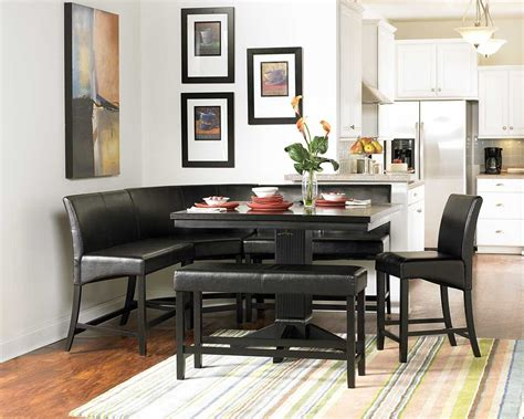 papario counter height nook set counter height dining sets