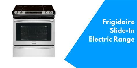 frigidaire fgispf    electric range  induction technology review cookwaredcom