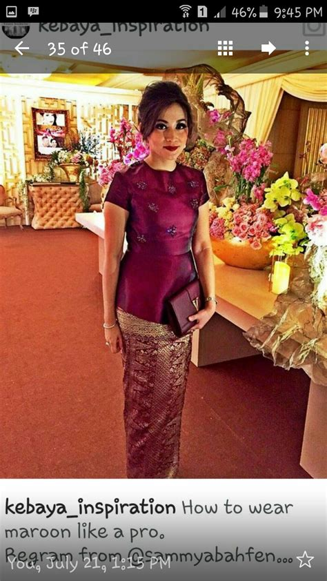 maroon luv kebaya indonesia kebaya kebaya lace
