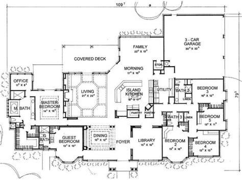 6 Room House Design : 5 To 6 Bedroom House Plans Archives