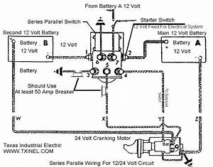 1986 Kenworth Lw900 Dump   Battery Wiring Help