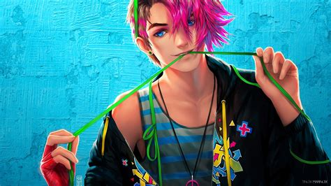 Boy And Anime Wallpaper - anime boy wallpaper 66 images