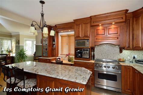 le de cuisine comptoir de granit et quartz comptoirs de cuisine en granit