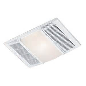 nutone 9960 electric ceiling heater with room light and