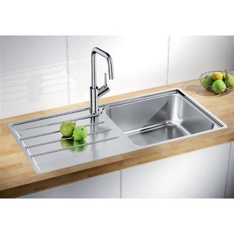 Blanco Lemis XL 6S IF Single Bowl Stainless Steel Inset Sink