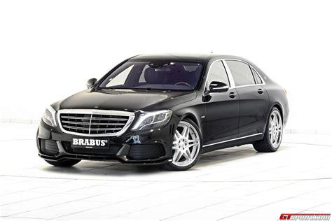 Official: 900hp Mercedes-maybach S600 By Brabus