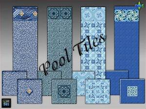 arte, della, vita, , pool, tiles, for, walls, and, floors, , u2022, sims, 4, downloads