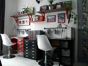 Deco Chambre Ado Rouge Et Gris: Chambre blanc gris et rouge. Id?es ...