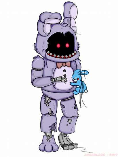 Bonnie Withered Fnaf Bon Deviantart Double Sister