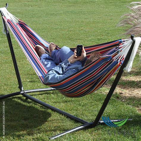 hammocks with stand polyester hammock with stand combo vivere