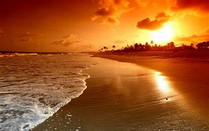 Sunset Wallpapers Sun Backgrounds Computer Beach Nice