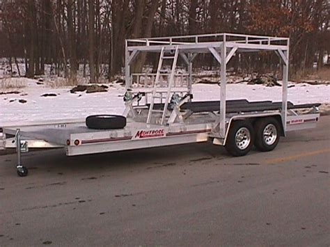 Boat Quad Trailer by Montrose Trailers Atv