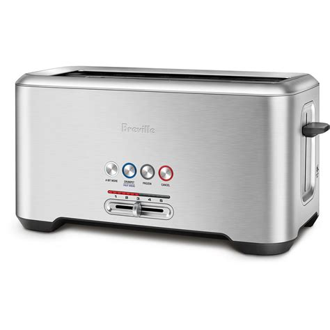 one slot toaster breville bta730bss lift and look pro toaster appliances