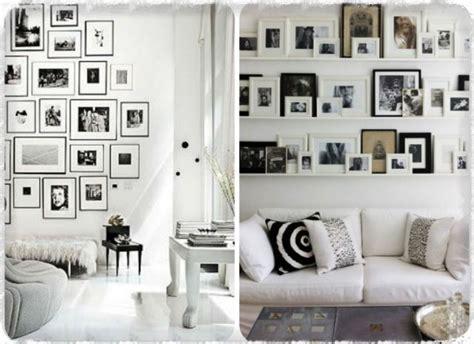 mur de photos idee deco id 233 es de d 233 coration et de mobilier pour la conception de la maison