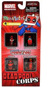 Marvel Minimates 4Pack Deadpool Corps Deadpool ...