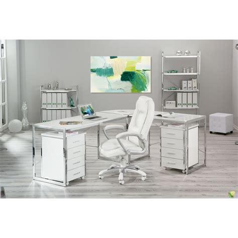 chaise de bureau blanc chaise de bureau quot premium quot blanc