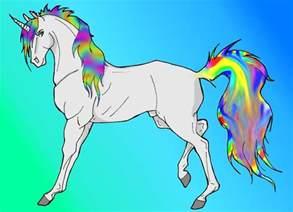 Unicorn with Rainbow
