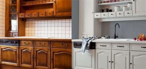 relooker une cuisine rustique en moderne avant après 58 photos qui prouvent l intérêt de recycler