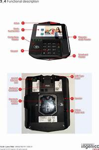 Ingenico L7000cl Lane  7000 Signature Capture Payment