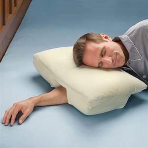 arm sleeper39s pillow the green head With best pillow side sleeper arm under