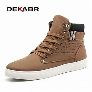 DEKABR 2017 Hot Men Shoes Fashion Warm Fur Winter Men ...