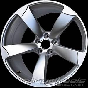 20quot Audi 5 Rotor Spoke Wheels In Silver Alloy Wheels Direct 3102695
